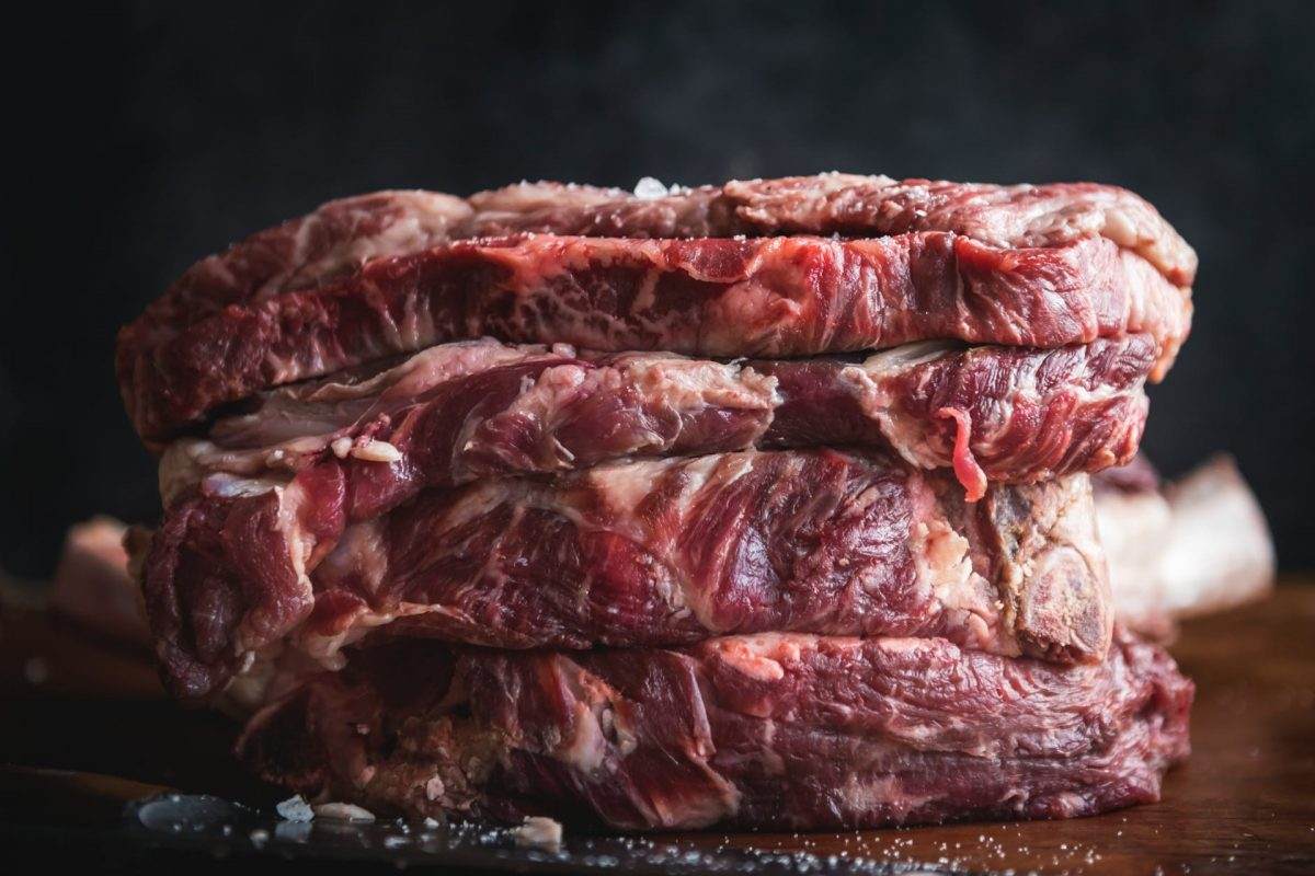 Picture of a piece of meat