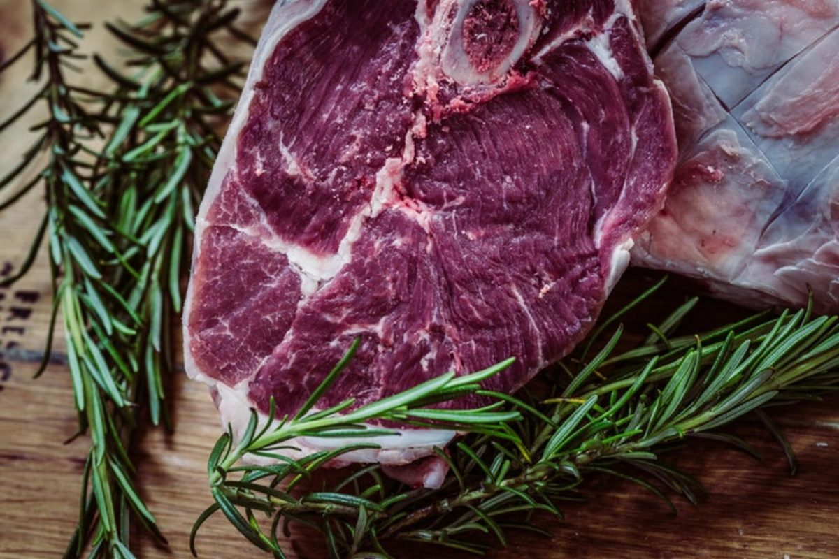 Picture of meat with thyme